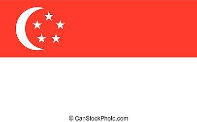旗, イメージ, シンガポール