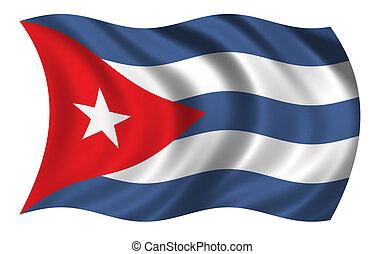 旗, キューバ