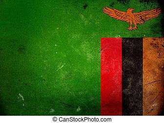 旗, グランジ, ザンビア