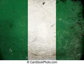 旗, グランジ, ナイジェリア