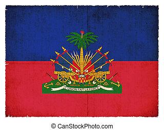旗, グランジ, ハイチ