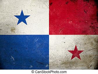 旗, グランジ, パナマ