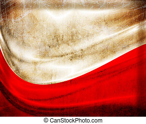 旗, グランジ, ポーランド