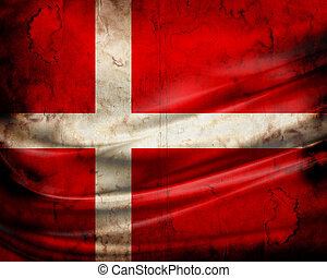 旗, グランジ, dania