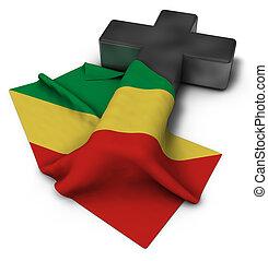 旗, コンゴ, キリスト教徒, 交差点
