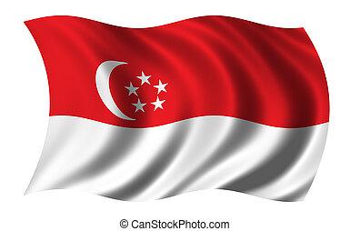 旗, シンガポール