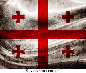 旗, ジョージア, グランジ