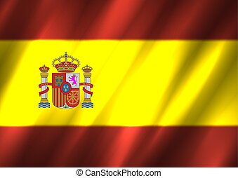 旗, スペイン, 背景