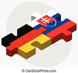 旗, スロバキア, ドイツ