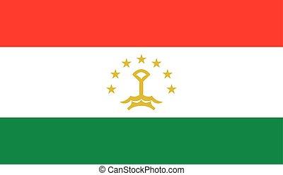 旗, タジキスタン, イメージ