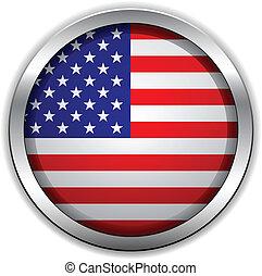旗, ベクトル, アメリカ