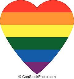 旗, ボタン, ゲイである