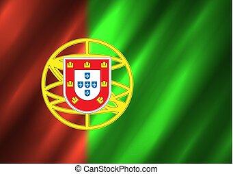 旗, ポルトガル, 背景