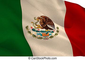 旗, メキシコ人