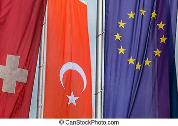 旗, 他, 旗, ヨーロッパ