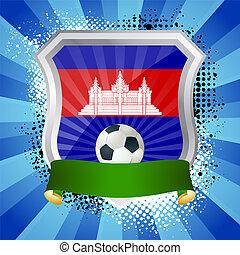 旗, 保護, カンボジア