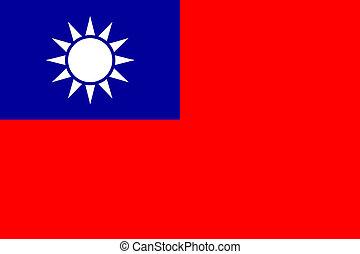 旗, 台湾