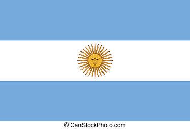 旗, 在中, 阿根廷