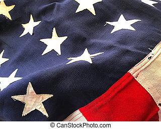 旗, 大隊, アメリカ