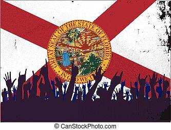 旗, 州, フロリダ, 聴衆