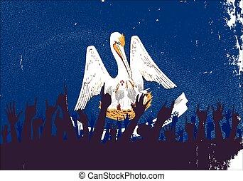旗, 州, ルイジアナ, 聴衆