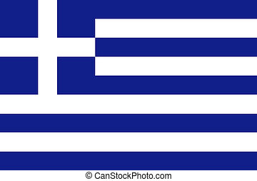 旗, 希腊