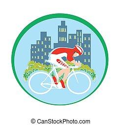 旗, 愛, サイクリング