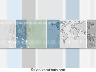 旗, 抽象的なデザイン, hi-tech