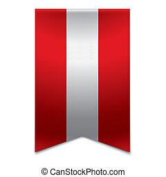 旗, 旗, -, リボン, austrian