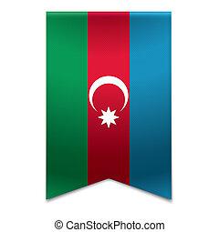 旗, 旗, -, リボン, azerbaijani