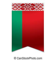 旗, 旗, -, リボン, belarusian
