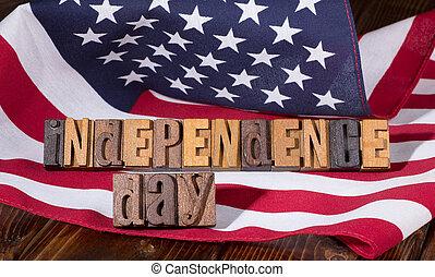旗, 日, 独立
