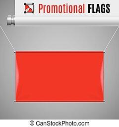 旗, 昇進