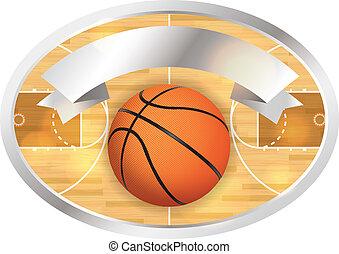 旗, 法廷, バスケットボール, バッジ