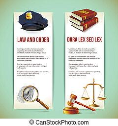 旗, 法律, 縦