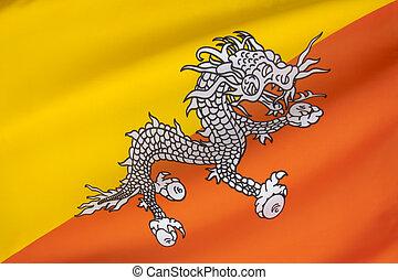 旗, ......的, 不丹