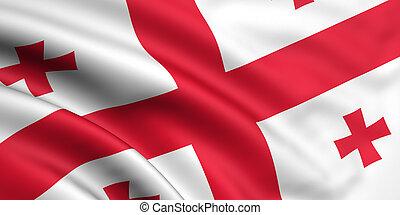 旗, ......的, 佐治亞