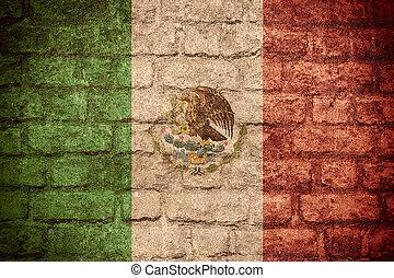 旗, ......的, 墨西哥