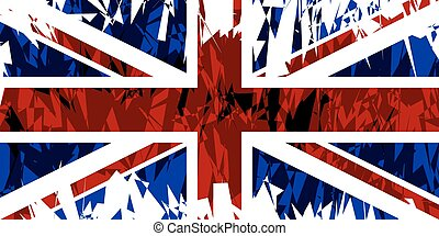 旗, ......的, the, 團結, kingdom.