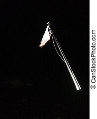 旗, 背景, flagpole, 黒い アメリカ人, 動き