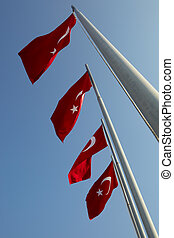 旗, 赤, トルコ語