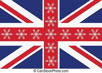 旗, 雪片