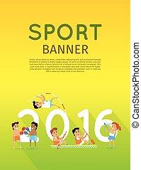 旗, 2016, スポーツ
