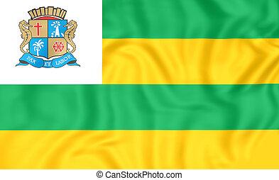 旗, aracaju, brazil.