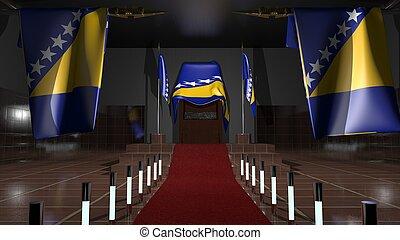 旗, bosnia - herzegovina