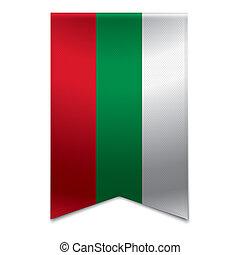 旗, bulgarian, -, 旗, リボン