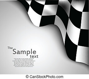 旗, checkered, 背景