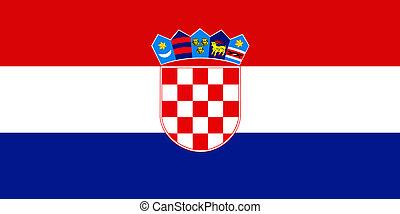 旗, croatia