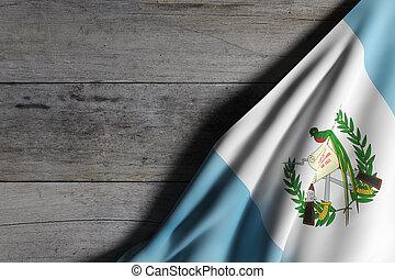 旗, guatemala, 振ること