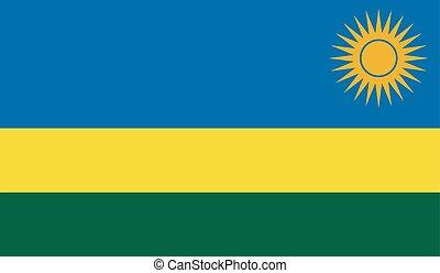 旗, rwanda, イメージ